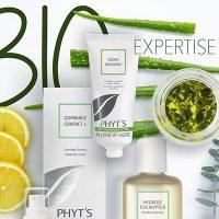 Phyts organically Cert bio- active skin care